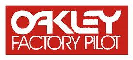 ホーリーエクイップ HollyEquip ステッカー・デカール Oakley Factory Pilotデカール カラー:レッド