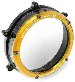 【イベント開催中!】 DUCABIKE ドゥカバイク エンジンカバー クリアークラッチカバー NEWバージョン カラー:ゴールド PANIGALE 1199 PANIGALE 1299 PANIGALE 959