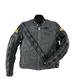 BATES ベイツ ウインタージャケット 合成皮革ジャケット(中綿入り) サイズ:XL