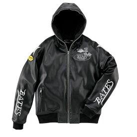 BATES ベイツ ウインタージャケット 合成皮革パーカジャケット サイズ:L