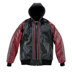 BATES ベイツ ウインタージャケット 合成皮革パーカジャケット(中綿入り) レディース サイズ: M