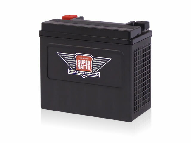 SUPER NATTO ハーレー専用AGMバッテリー【スーパーナット】
