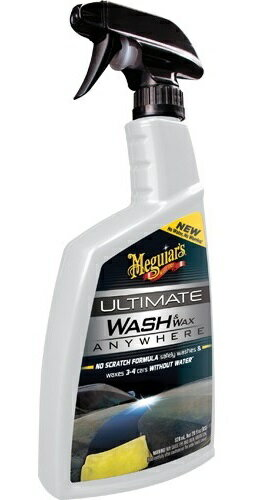 Meguiar's マグアイアーズ 洗車用品 アルティメット ウォッシュ&ワックス エニウェア