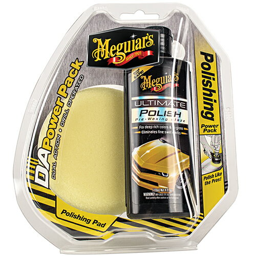 Meguiar's マグアイアーズ 洗車用品 DA ポリッシングシステムポリッシュパック