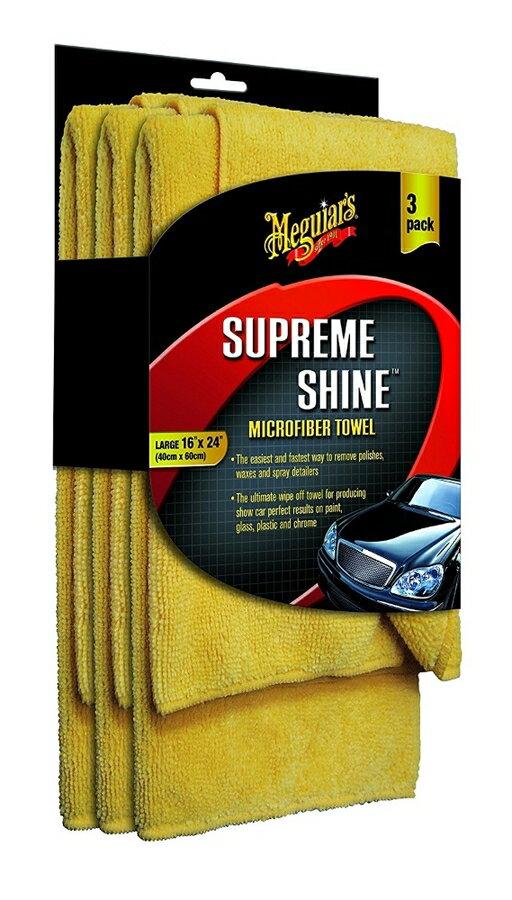 Meguiar's マグアイアーズ 洗車用品 シュプリームシャイン(TM)マイクロファイバータオル