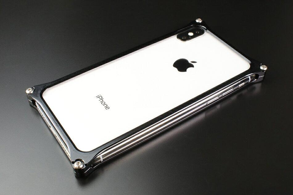 GILD design ギルドデザイン スマートフォンケース ソリッドバンパー for iPhoneX カラー:ブラック iPhoneX