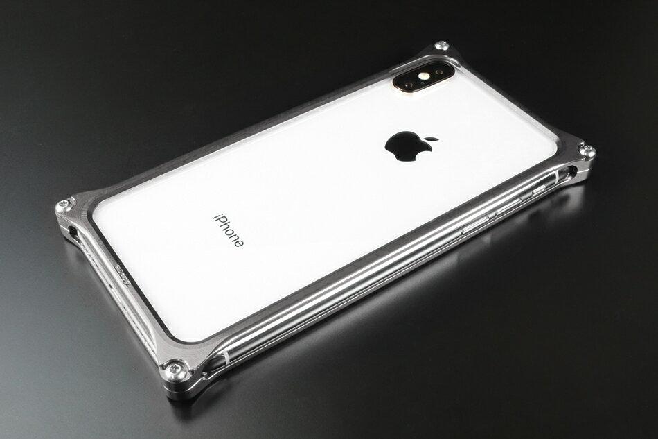GILD design ギルドデザイン スマートフォンケース ソリッドバンパー for iPhoneX カラー:グレー iPhoneX