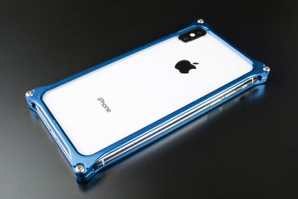 GILD design ギルドデザイン スマートフォンケース ソリッドバンパー for iPhoneX カラー:ブルー iPhoneX