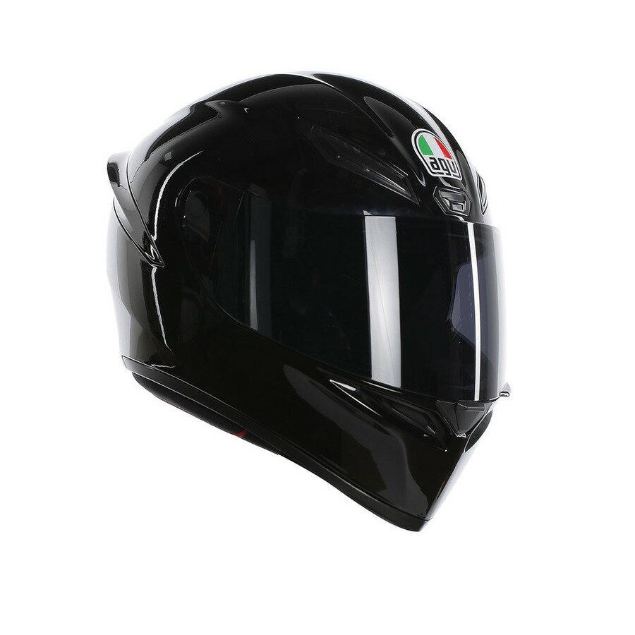 AGV エージーブイ フルフェイスヘルメット K1 ヘルメット ブラック サイズ:M(57-58cm)