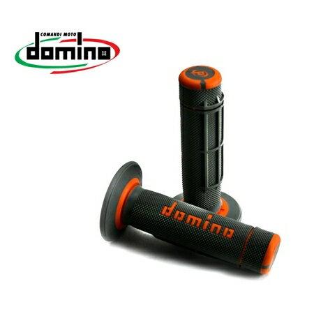 domino ドミノ オフロード クロス グリップ カラー:ブラック×オレンジ