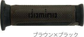 【在庫あり】domino ドミノ ツーリスモタイプ グリップ カラー:ブラウン×ブラック