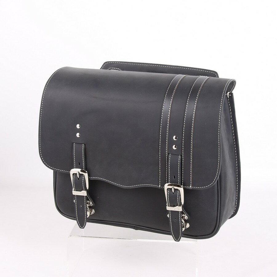 DEGNER デグナー サドルバッグ・サイドバッグ レザーサドルバッグ カラー:ブラック