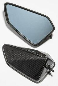 A-TECH エーテック Aテック ミラー類 フルアジャスタブル ドライカーボンミラー シャフト素材:カーボン タイプ:4 (綾織ドライカーボン) ZX-10R