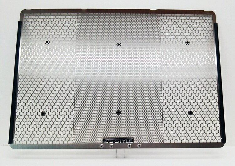 【在庫あり】K's-STYLE ケイズスタイル ラジエターコアガード カラー:シルバー Ninja1000 (11-17),Versys1000 (12-17),Z1000 (07-16 / ZRT00B以降),Z800 (13-)