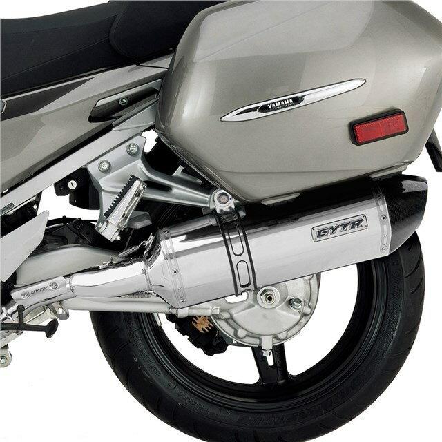 US YAMAHA 北米ヤマハ純正アクセサリー スリップオンマフラー GYTR(R) FJR1300(TM) スリップオンサイレンサ (GYTR(R) FJR1300(TM) Slip-On Exhaust)