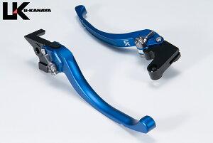 U-KANAYA ユーカナヤ ツーリングタイプ アルミビレットレバーセット アジャスターカラー:マットグリーン レバーカラー:マットブルー VFR800 VFR800F VFR800Xクロスランナー VTR1000Fファイアストー