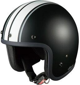 【在庫あり】OGK KABUTO オージーケーカブト ジェットヘルメット FOLK G1 [フォーク G1 フラットブラックホワイト] ヘルメット