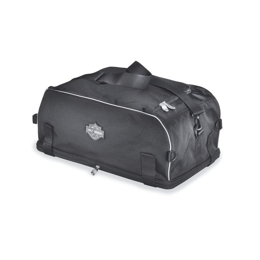 HARLEY-DAVIDSON ハーレーダビッドソン サドルバッグ・サイドバッグ プレミアム可倒式 ラゲッジラックバッグ【Premium Collapsible Luggage Rack Bag】