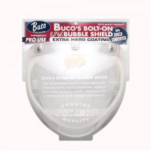 BUCO ブコ その他ヘルメット関連用品 ボルトオンバブルシールド WITHコンバーター