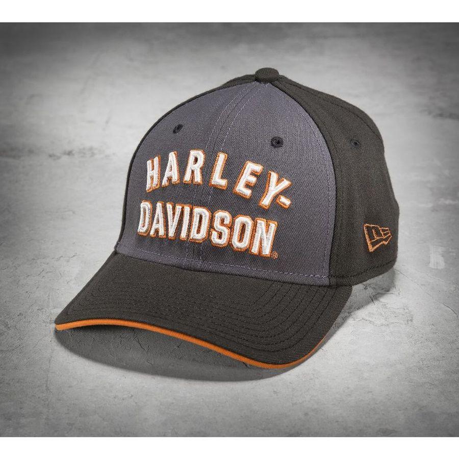 HARLEY-DAVIDSON ハーレーダビッドソン 帽子 Men's Font 39THIRTY Baseball Cap SIZE:S