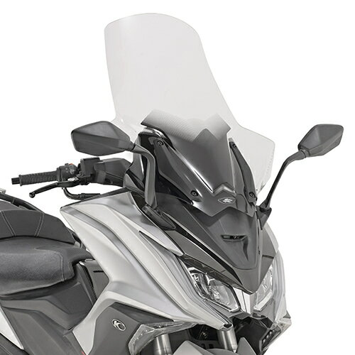 KAPPA カッパ specific transparent windshield with hand guards スクリーン AK 550 (17)