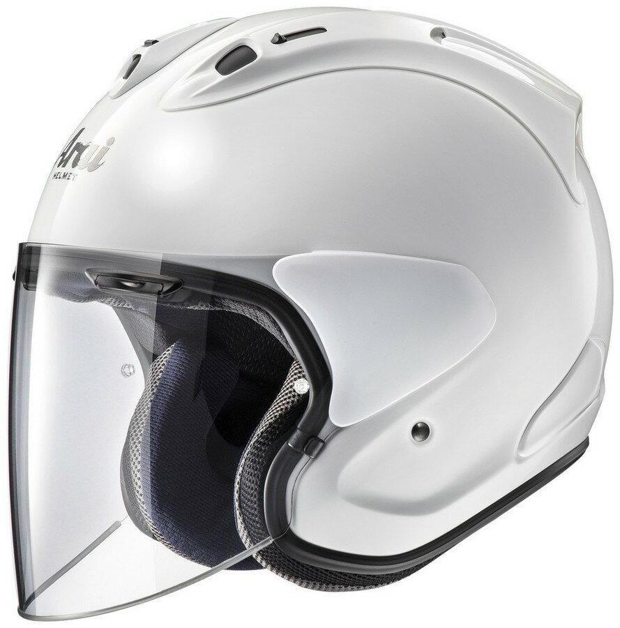 Arai アライ ジェットヘルメット VZ-Ram[ブイゼット ラム グラスホワイト] ヘルメット サイズ:S(55-56cm)