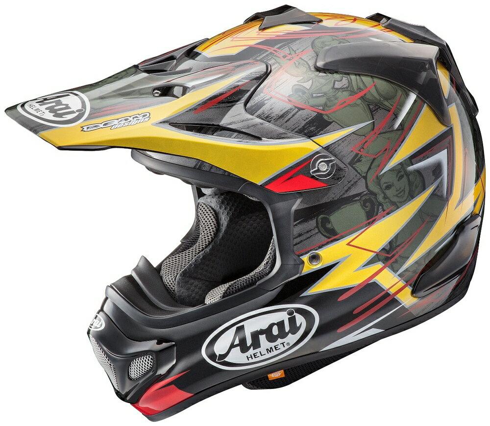 【イベント開催中!】 Arai アライ オフロードヘルメット V-CROSS4 TICKLE [V-クロス4 ティックル] ヘルメット サイズ:M(57-58cm)