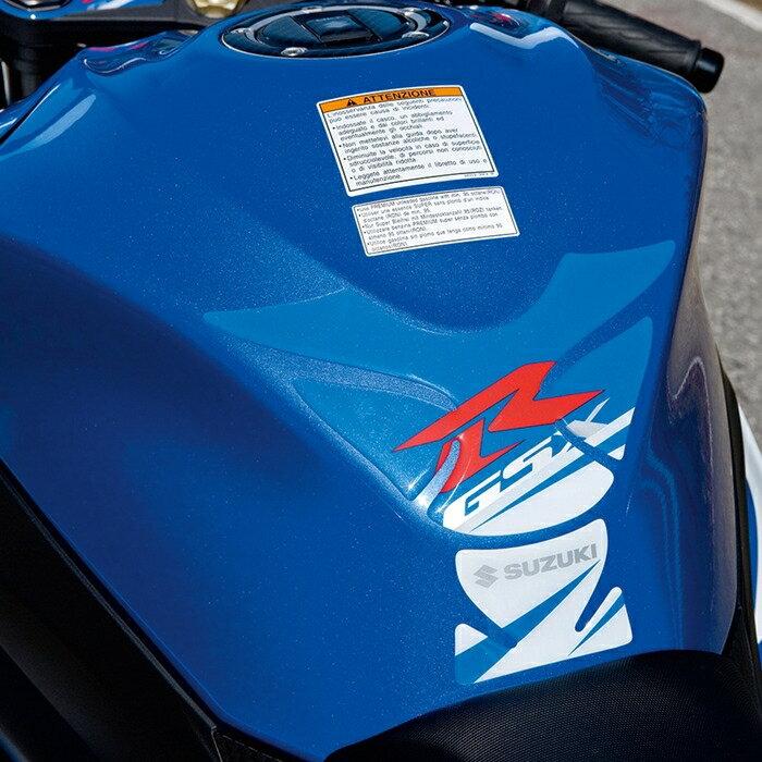 【イベント開催中!】 US SUZUKI 北米スズキ純正アクセサリー GSX-R タンクパッド (Gsx-R Tank Pad) カラー:Blue GSX-R1000