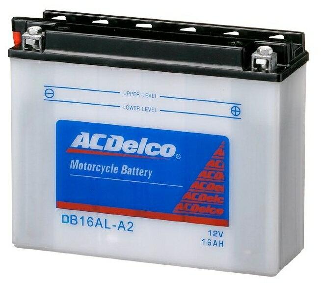 【在庫あり】ACDelco ACデルコ 12N5.5-3B 補水タイプバッテリー (電解液付属)