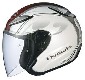 【在庫あり】OGK KABUTO オージーケーカブト ジェットヘルメット AVAND-II CITTA [アヴァンド・2 チッタ パールホワイト] ヘルメット サイズ:M