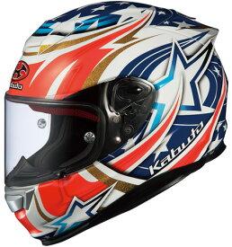 OGK KABUTO オージーケーカブト フルフェイスヘルメット RT-33 ACTIVE STAR [アールティ・サンサン アクティブスター ホワイト] ヘルメット サイズ:XL