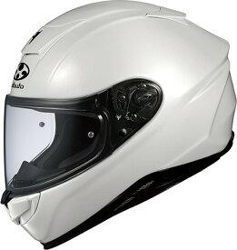 【在庫あり】OGK KABUTO オージーケーカブト フルフェイスヘルメット AEROBLADE-V [AEROBLADE-5 エアロブレード・ファイブ パールホワイト] ヘルメット サイズ:M