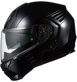 【在庫あり】OGK KABUTO オージーケーカブト システムヘルメット KAZAMI [カザミ ブラックメタリック] ヘルメット サイズ:L