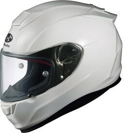 【在庫あり】OGK KABUTO オージーケーカブト フルフェイスヘルメット RT-33 [アールティ・サンサン ホワイト] ヘルメット サイズ:XL