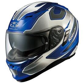 OGK KABUTO オージーケーカブト フルフェイスヘルメット KAMUI-II STINGER [カムイ・2 スティンガー ブルーホワイト] ヘルメット サイズ:L