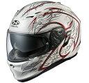 OGK KABUTO オージーケーカブト フルフェイスヘルメット KAMUI-II TRIRUG [カムイ・2 トライラグ パールホワイトレッド] ヘルメット ...