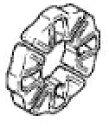【イベント開催中!】 HONDA ホンダ ホイール関連パーツ 純正部品 ホイールダンパーセット