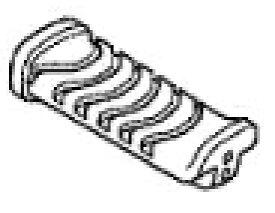 HONDA ホンダ 純正部品 ステップラバー スーパーカブ110 スーパーカブ110プロ スーパーカブ110MD (郵政カブ) スーパーカブ50 スーパーカブ50プロ スーパーカブ 50 MD