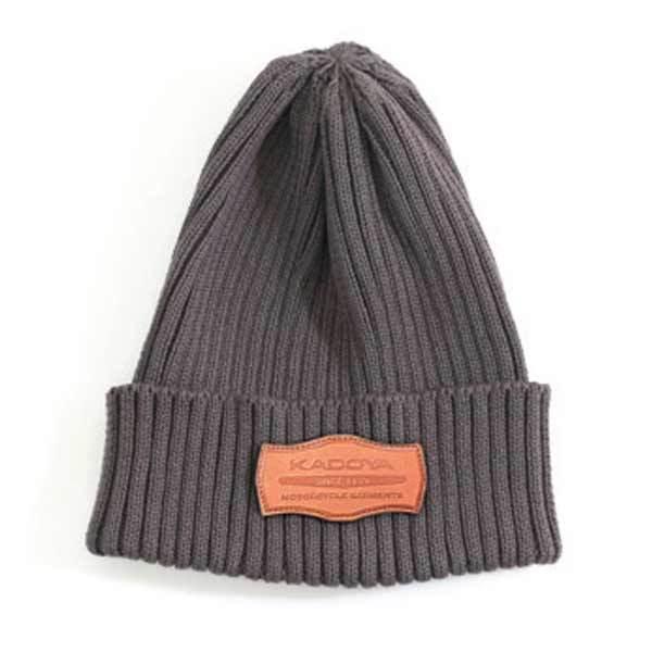 KADOYA カドヤ 帽子 SUMMER KNIT CAP [K'S PRODUCT] サマーニットキャップ カラー:グレー