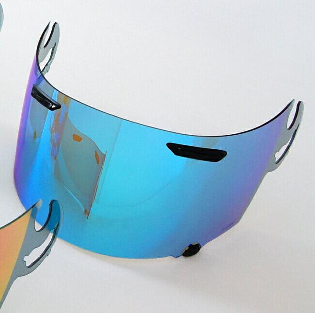 【在庫あり】Arai アライ シールド・バイザー スーパーアドシスIミラーシールド コーティングカラー:ミラーブルー ベースカラー:セミスモーク