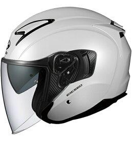 【在庫あり】OGK KABUTO オージーケーカブト ジェットヘルメット EXCEED [エクシード パールホワイト] ヘルメット サイズ:M