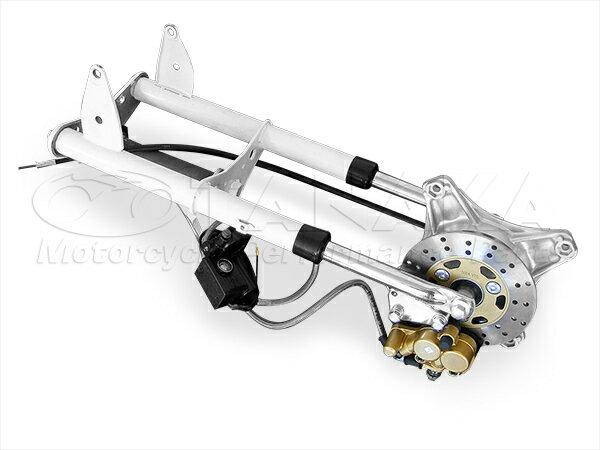 田中商会 TANAKA ディスクローター ダックス用ノーマルルックフロントフォーク ディスクブレーキキット ショート シャリー50 シャリー70 ダックス ダックス70 マイティダックス (ST90)
