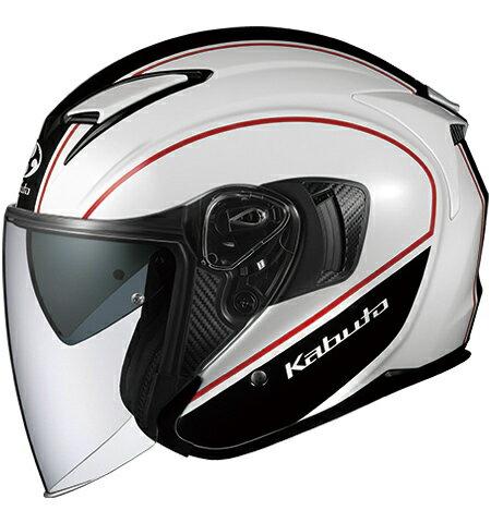 【在庫あり】OGK KABUTO オージーケーカブト ジェットヘルメット EXCEED DELIE [エクシード デリエ ホワイトブラック] ヘルメット サイズ:M
