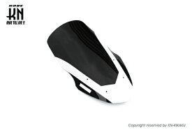 KN企画 ケイエヌキカク フロントロングスクリーン スクリーンカラー:ブラック/ホワイトライン NMAX NMAX 155