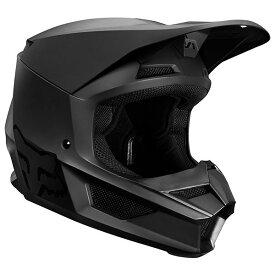 FOX フォックス オフロードヘルメット MX19 V1 HELMET [V1 マット ヘルメット] サイズ:L