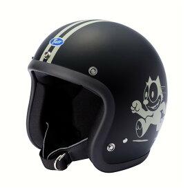 ポイント10倍! BUCO ジェットヘルメット エクストラブコ フィリックス ザ キャット ヘルメット サイズ:XL(61-62cm)