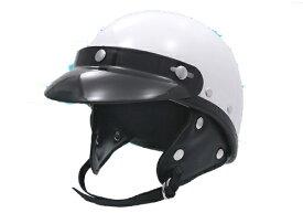 EASYRIDERS イージーライダース ジェットヘルメット ポリスタイプヘルメット ラウンドバイザー付