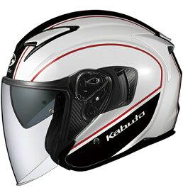 【在庫あり】OGK KABUTO オージーケーカブト ジェットヘルメット EXCEED DELIE [エクシード デリエ ホワイトブラック] ヘルメット サイズ:XL