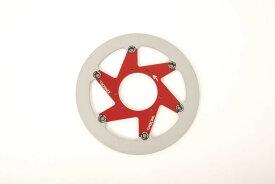 BERINGER ベルリンガー ディスクローター AERONAL DISC (エアロナルディスク) カラー:レッド 左用 TOURINGファミリー