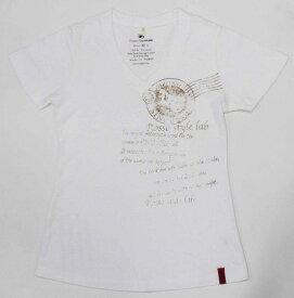 Rosso StyleLab ロッソ スタイルラボ Tシャツ レター レディース サイズ:M